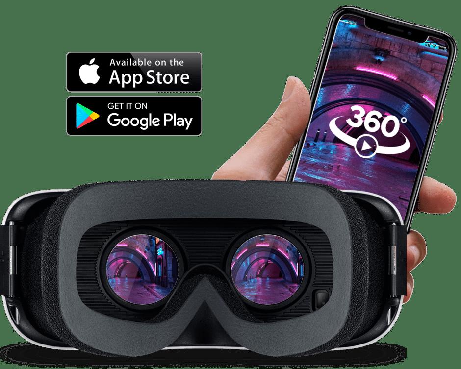 visite virtuelle compatible app store google play